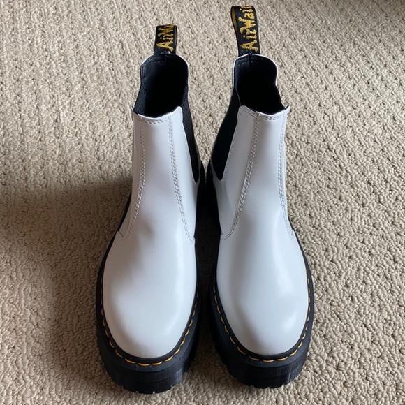 Dr Martens Chelsea Platform Boot